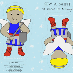 Sew a Saint: Saint Michael the Archangel