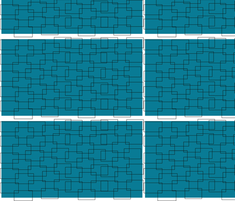 The Bricks -Tbluewhite fabric by corisabella_doreli on Spoonflower - custom fabric