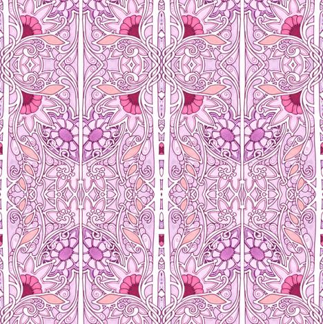 Maximum Art Nouveau fabric by edsel2084 on Spoonflower - custom fabric