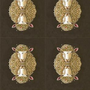 Mirror sheep wide