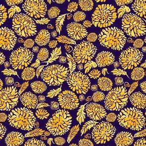 The Golden Flowers - Blue