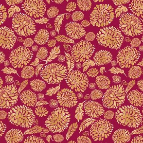 The Golden Flowers - Scarlett