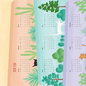 Garden Walls Calendar 2019