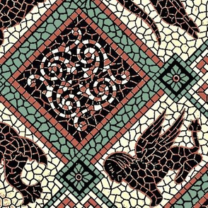 Myth Mosaic Green