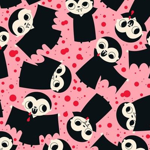 vampire fabric pink