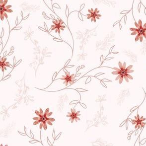 Dainty Cinnamon Flowers