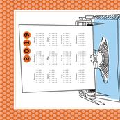 Typewriter Calendar 2019