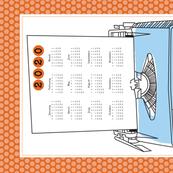 Typewriter Calendar 2020