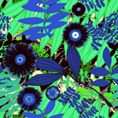 Flowers Pattern. 43