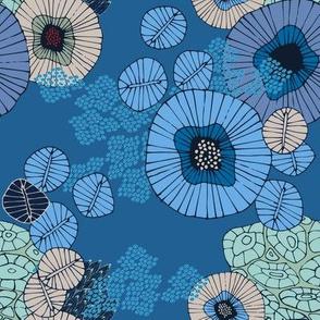 Sea Garden Blue