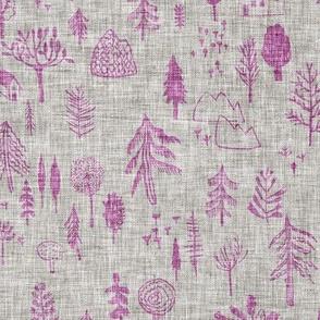 Happy Forest (lavender) MED