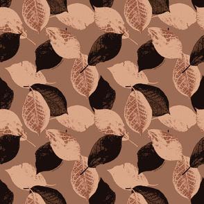Wild Plum Leaves Espresso Cream