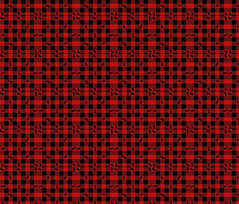 Moose plaid fabric by hrrb on Spoonflower - custom fabric
