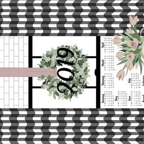 Kitchen Window Calendar 2019