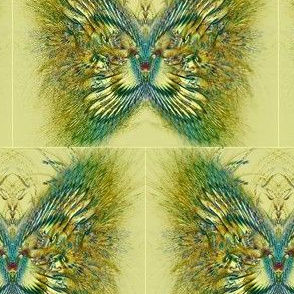 Feathery Fractal Butterfly