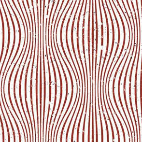 Warping Lines White Red
