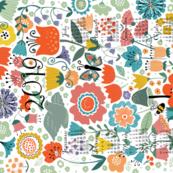 2019 Floral Abundance Calendar