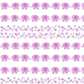 Pink Elephants Rows