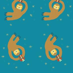 X-mas sloths