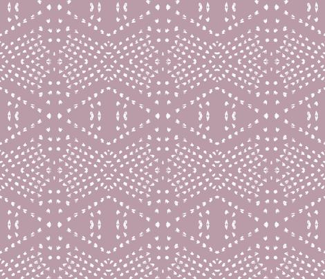 BOHO TILE MAUVE fabric by holli_zollinger on Spoonflower - custom fabric