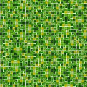 Blocks shade of green