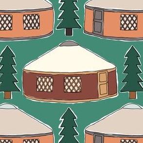 Cozy Yurts -n- Pines