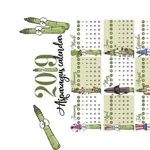 2019 Asparagus Calendar