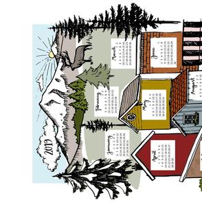 sketch calendar 2019