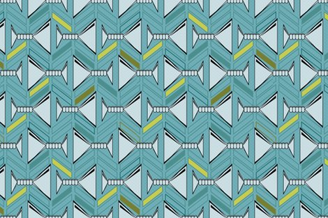 Rrrrrrretro_martinis_tea_towel_in_deep_aqua_and_olive_with_pattern_side_shop_preview