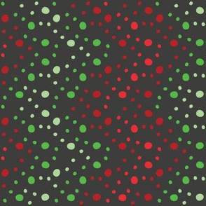 Christmas Chevron (Black Rotated)