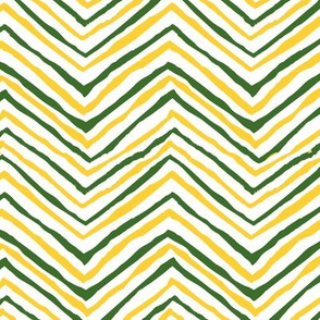 zig zag green yellow green bay packers