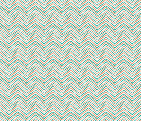 teal orange miami dolphins fabric aqua and orange teal orange fabric by jenlats on Spoonflower - custom fabric
