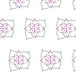 FlowerBrickFill