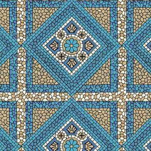 Terra-Cotta Tiles Blue