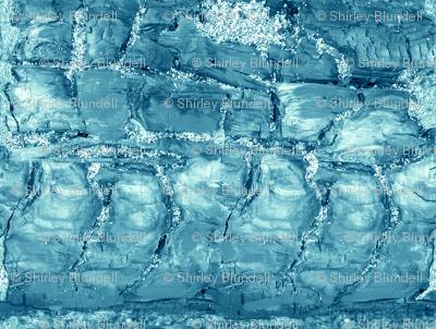 Charred wood blue
