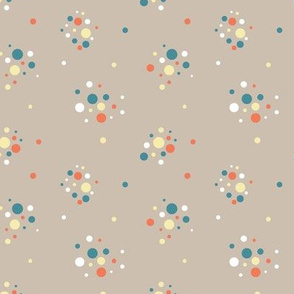Antique bulbs confetti beige