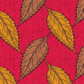 Autumn bark cloth