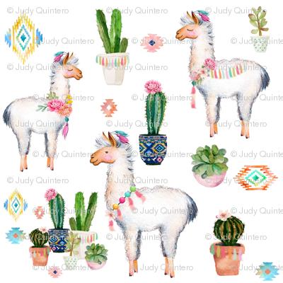 "8"" 2018 Aztec Llama"