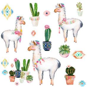 "18"" 2018 Aztec Llama"