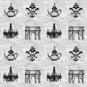 Barock Collage Seamless Pattern
