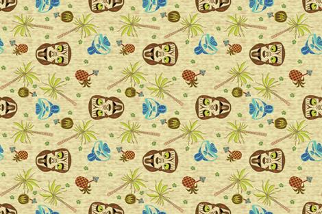 Maori Warrior Bar Towel fabric by gargoylesentry on Spoonflower - custom fabric