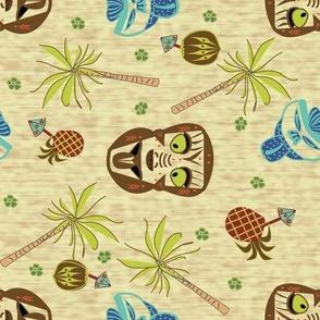 Maori Warrior Bar Towel