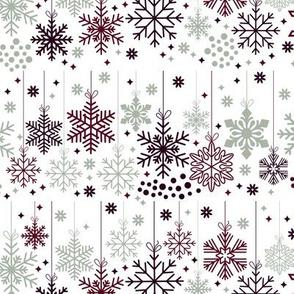 Elegant Holiday-Snowflakes