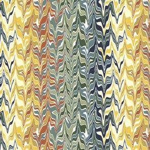 Marbleized Bayeux Palette Stripes 2