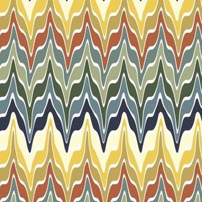 Marbleized Bayeux Palette Stripes 3