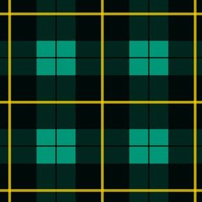 Minimalist Wallace Hunting Tartan Ancient