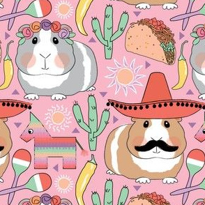 guinea-pigs-with-tacos-lavender-peach-on-pink-2