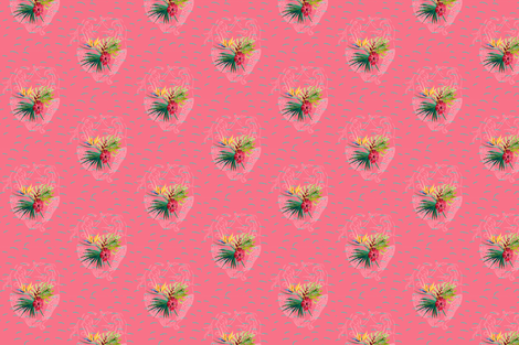 Dancing  Mermaids fabric by annimo on Spoonflower - custom fabric