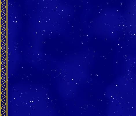 Love Live Constellation Cape fabric by minkfrog on Spoonflower - custom fabric