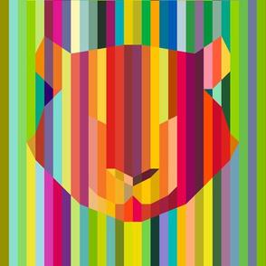 Candy stipe Tiger
